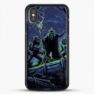 Horror Collection Wake Up Old Friend iPhone X Case, Black Rubber Case | JoeYellow.com