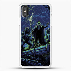 Horror Collection Wake Up Old Friend iPhone X Case, White Rubber Case | JoeYellow.com