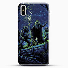 Load image into Gallery viewer, Horror Collection Wake Up Old Friend iPhone X Case, Black Snap 3D Case | JoeYellow.com