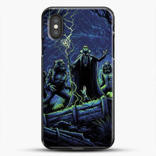 Load image into Gallery viewer, Horror Collection Wake Up Old Friend iPhone XS Case, Black Plastic Case | JoeYellow.com