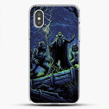 Load image into Gallery viewer, Horror Collection Wake Up Old Friend iPhone XS Case, White Plastic Case | JoeYellow.com