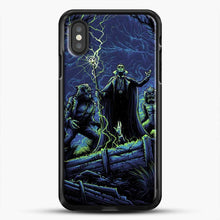 Load image into Gallery viewer, Horror Collection Wake Up Old Friend iPhone XS Case, Black Rubber Case | JoeYellow.com