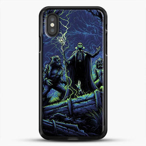 Horror Collection Wake Up Old Friend iPhone XS Case, Black Rubber Case | JoeYellow.com