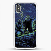 Load image into Gallery viewer, Horror Collection Wake Up Old Friend iPhone XS Case, White Rubber Case | JoeYellow.com