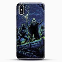 Load image into Gallery viewer, Horror Collection Wake Up Old Friend iPhone XS Case, Black Snap 3D Case | JoeYellow.com