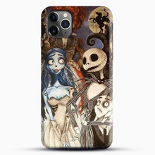 Load image into Gallery viewer, Horror Collection What Time Burton Character iPhone 11 Pro Max Case, Black Snap 3D Case | JoeYellow.com