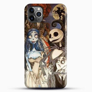 Horror Collection What Time Burton Character iPhone 11 Pro Max Case, Black Snap 3D Case | JoeYellow.com
