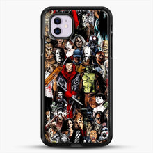 Load image into Gallery viewer, Horror Collection iPhone 11 Case, Black Rubber Case | JoeYellow.com