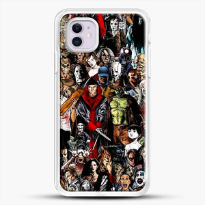 Horror Collection iPhone 11 Case, White Rubber Case | JoeYellow.com