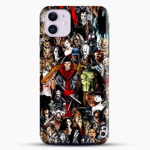Horror Collection iPhone 11 Case, Snap 3D Case | JoeYellow.com