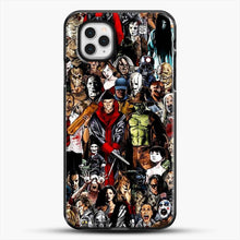 Load image into Gallery viewer, Horror CollectioniPhone 11 Pro Case, Black Plastic Case | JoeYellow.com