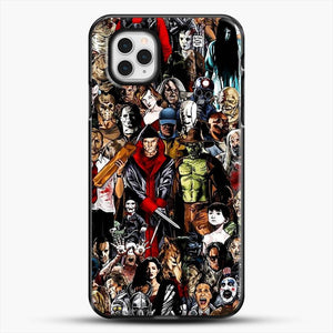 Horror CollectioniPhone 11 Pro Case, Black Plastic Case | JoeYellow.com