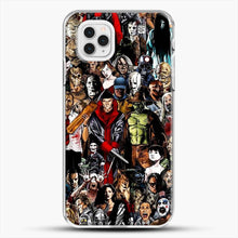Load image into Gallery viewer, Horror CollectioniPhone 11 Pro Case, White Plastic Case | JoeYellow.com