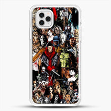 Load image into Gallery viewer, Horror CollectioniPhone 11 Pro Case, White Rubber Case | JoeYellow.com