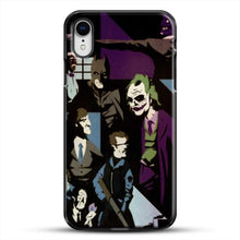 Load image into Gallery viewer, Horror Comic Collection Darck Knight iPhone XR Case, Black Plastic Case | JoeYellow.com
