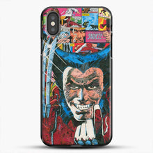 Load image into Gallery viewer, Horror Comic Collection X Men iPhone X Case, Black Plastic Case | JoeYellow.com