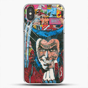 Horror Comic Collection X Men iPhone X Case, White Plastic Case | JoeYellow.com