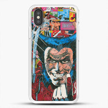 Load image into Gallery viewer, Horror Comic Collection X Men iPhone X Case, White Rubber Case | JoeYellow.com