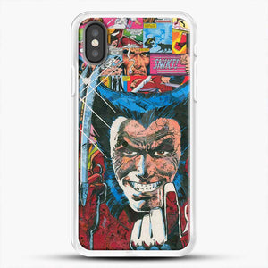 Horror Comic Collection X Men iPhone X Case, White Rubber Case | JoeYellow.com