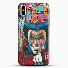 Load image into Gallery viewer, Horror Comic Collection X Men iPhone X Case, Black Snap 3D Case | JoeYellow.com