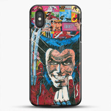 Load image into Gallery viewer, Horror Comic Collection X Men iPhone XS Case, Black Plastic Case | JoeYellow.com