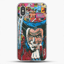 Load image into Gallery viewer, Horror Comic Collection X Men iPhone XS Case, White Plastic Case | JoeYellow.com