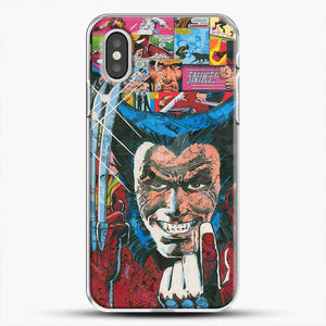 Horror Comic Collection X Men iPhone XS Case, White Plastic Case | JoeYellow.com