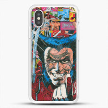 Load image into Gallery viewer, Horror Comic Collection X Men iPhone XS Case, White Rubber Case | JoeYellow.com