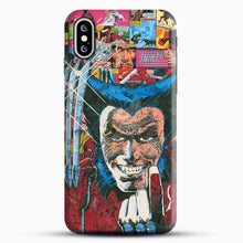 Load image into Gallery viewer, Horror Comic Collection X Men iPhone XS Case, Black Snap 3D Case | JoeYellow.com