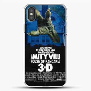 Horror Film Hounted House iPhone X Case, White Plastic Case | JoeYellow.com