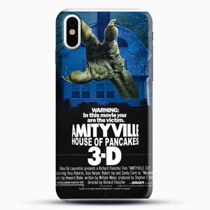 Horror Film Hounted House iPhone X Case, Black Snap 3D Case | JoeYellow.com