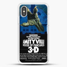 Load image into Gallery viewer, Horror Film Hounted House iPhone XS Case, White Rubber Case | JoeYellow.com