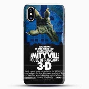 Horror Film Hounted House iPhone XS Case, Black Snap 3D Case | JoeYellow.com