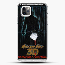 Load image into Gallery viewer, Horror Film The Revenge Hockey iPhone 11 Pro Max Case, White Plastic Case | JoeYellow.com