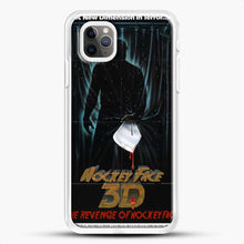 Load image into Gallery viewer, Horror Film The Revenge Hockey iPhone 11 Pro Max Case, White Rubber Case | JoeYellow.com