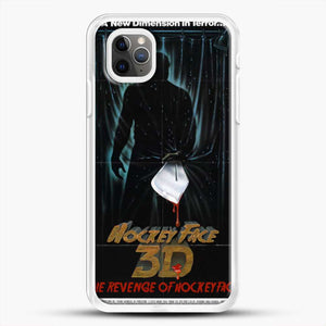 Horror Film The Revenge Hockey iPhone 11 Pro Max Case, White Rubber Case | JoeYellow.com
