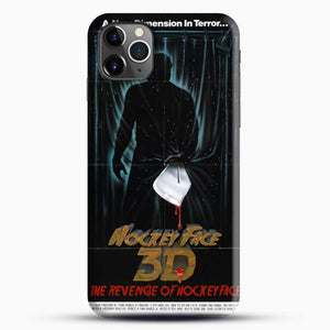 Horror Film The Revenge Hockey iPhone 11 Pro Max Case, Black Snap 3D Case | JoeYellow.com
