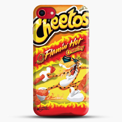 Hot Cheetos iPhone 8 Case, Black Snap 3D Case | JoeYellow.com