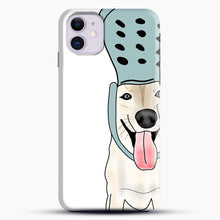Load image into Gallery viewer, Husky And Crocs iPhone 11 Case, Black Snap 3D Case | JoeYellow.com