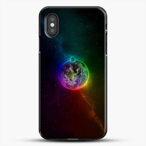 I Am Up Earth Colorful Earth iPhone XS Case
