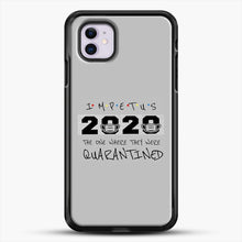 Load image into Gallery viewer, Impetus 2020 iPhone 11 Case, Black Rubber Case | JoeYellow.com
