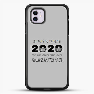 Impetus 2020 iPhone 11 Case, Black Rubber Case | JoeYellow.com