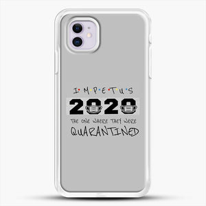 Impetus 2020 iPhone 11 Case, White Rubber Case | JoeYellow.com