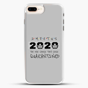 Impetus 2020 iPhone 8 Plus Case, White Rubber Case | JoeYellow.com