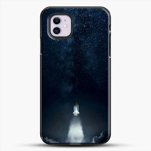 Into Space iPhone 11 Case, Black Plastic Case | JoeYellow.com