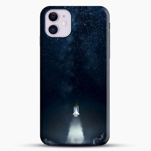 Into Space iPhone 11 Case, Black Snap 3D Case | JoeYellow.com