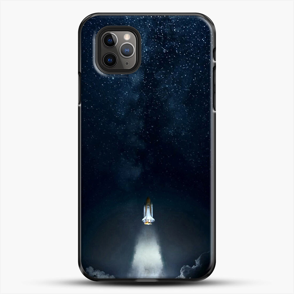 Into Space iPhone 11 Pro Max Case, Black Plastic Case | JoeYellow.com
