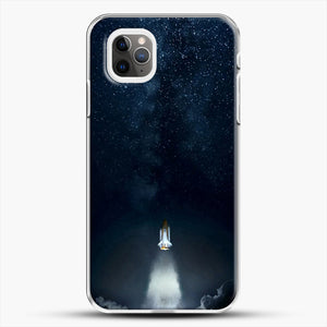 Into Space iPhone 11 Pro Max Case, White Plastic Case | JoeYellow.com