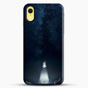 Into Space iPhone XR Case, Black Snap 3D Case | JoeYellow.com
