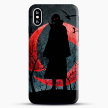 Load image into Gallery viewer, Itachi Silhouette Uchiha iPhone XS Case, Snap 3D Case | JoeYellow.com